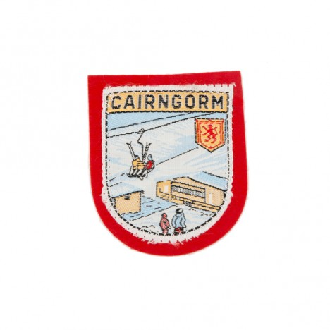 Patch brodé Cairngorm rouge