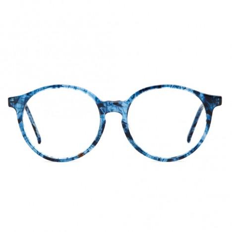 1c91bdc92d992 Lunettes rondes vintage Pascal bleu Bourgeois années 80 - Boutique ...
