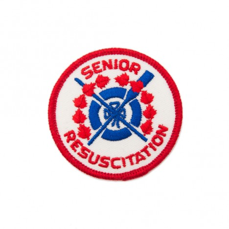 Patch vintage US Senior Resuscitation