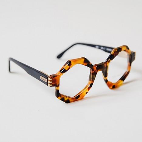lunettes vintage metropolis originales turtoise octogonales verres transparents boutique vintage. Black Bedroom Furniture Sets. Home Design Ideas