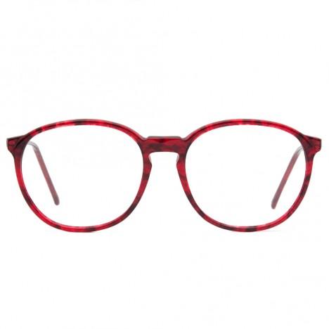 68588af34c Lunettes vintage rouge forme ronde Bourgeois France - Boutique Vintage