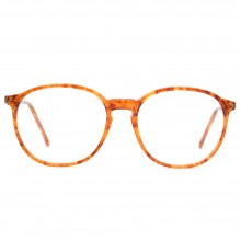 Lunettes vintage ambre forme ronde Bourgeois France