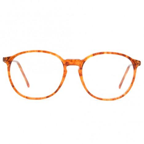 61c1469640 Lunettes vintage ambre forme ronde Bourgeois France - Boutique Vintage