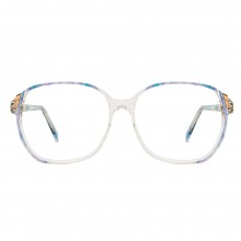 Lunettes vintage Tiffany mamie blue 70's