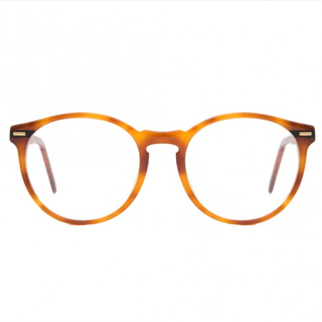 Lunettes rondes vintage Bourgeois Turtoise France