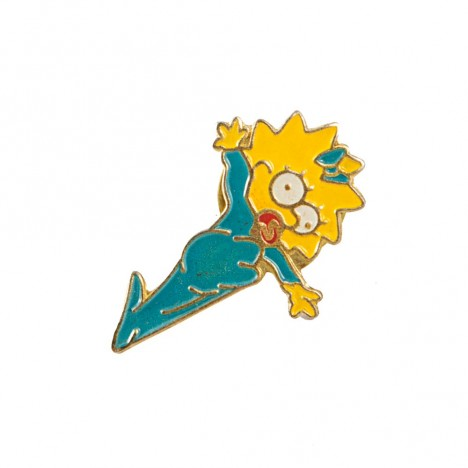 Pin's vintage Maggie Simpson 90's
