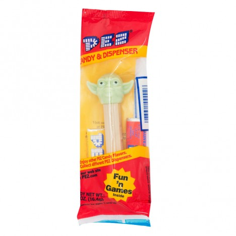 Pez Star Wars Collector Maître Yoda 90's