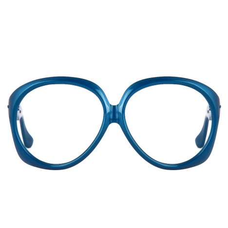 Lunettes 70's Vintage Oversize Bleues Polaroid 8v0OyNwPmn
