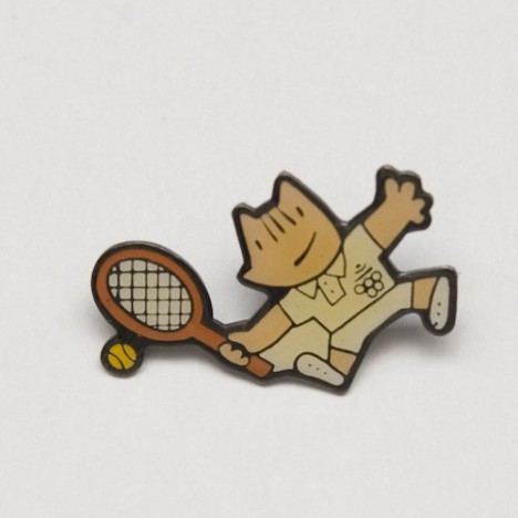 Pin's jeux olympiques barcelone 1992 Mascotte Cobi