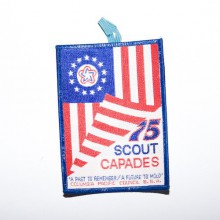 Patch brodé scouts 75 scout capades - Colombie pacifique