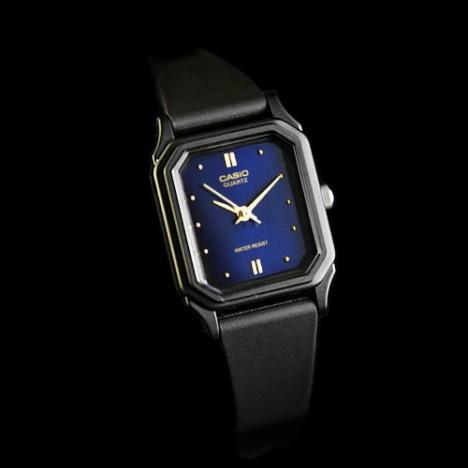 Plastique Montre Pour Cadran Vintage Femmes 2adf Noir Et Bleu Casio 142e Lq Lqc534AjR