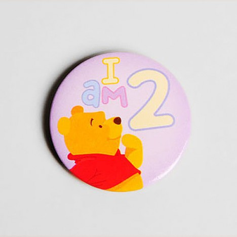 Badge Winnie L'ourson I'm 2