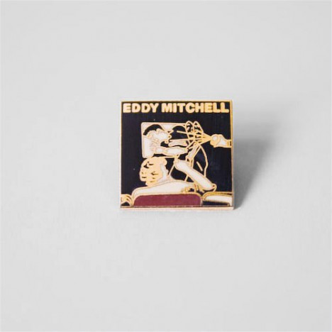 Pin's Eddy Mitchell spectacle vintage