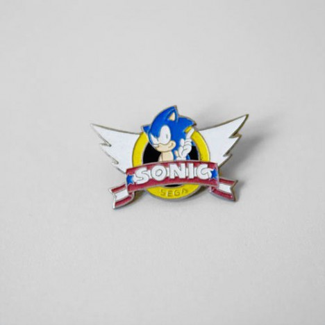 Pin's collector Sonic the Hedgehog des années 80