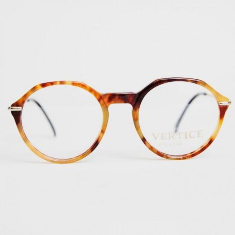 Lunettes de vue vintage Vertice ambre pour femme verres transparents années  80 0ba083e25347