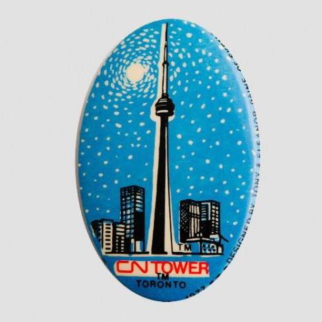 Badge vintage CN Tower Toronto 1977