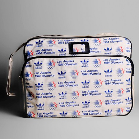 Besace / Sac Adidas Vintage Jeux Olympiques 1984 Los Angeles