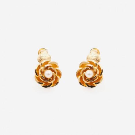 Boucles d'oreilles annees 70