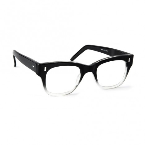 6edcf5048f9dcd Lunettes Spitfire MX1 noires et verres transparents pour femmes ...
