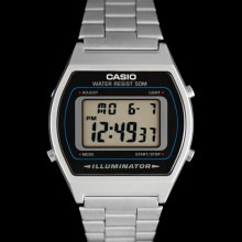 CASIO B640WD-1AVEF - Montre casio grise old school 80's
