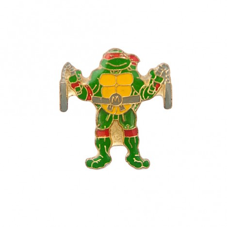 Pin's tortue ninja Michelangelo Pronto