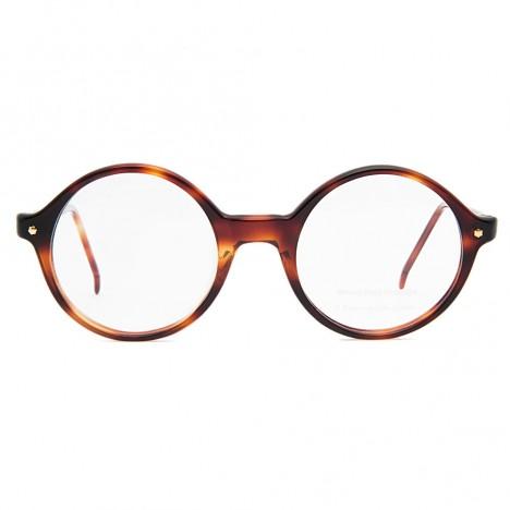 lunettes rondes vintage cailles marron boutique vintage. Black Bedroom Furniture Sets. Home Design Ideas