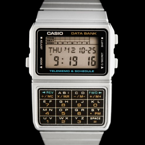 Montre casio calculatrice vintage grise - Casio DBC-611E-1EF