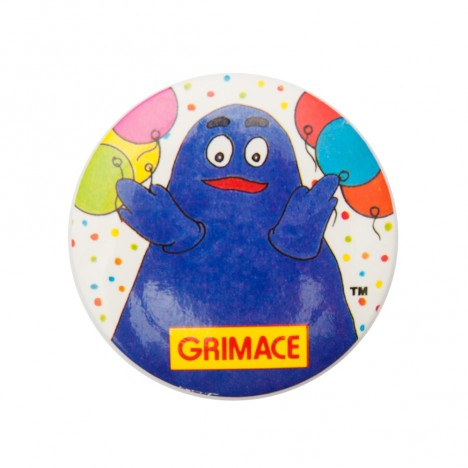 Badge vintage Mc Donalds Grimace