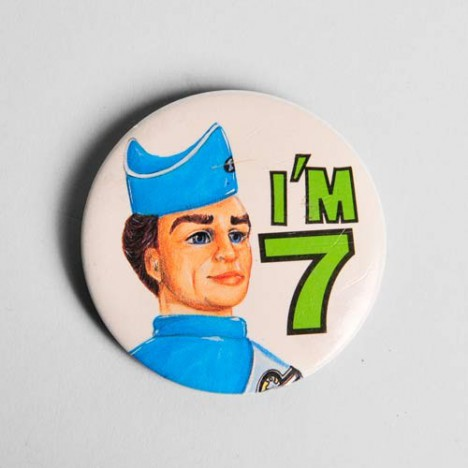 Badge Big Jim Vintage - I'm 7 - Années 70/80