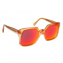 Lunettes Grand Master Flash hip hop 80's orange Lizon