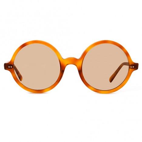 lunettes de soleil vintage rondes ambre 70 39 s boutique vintage. Black Bedroom Furniture Sets. Home Design Ideas