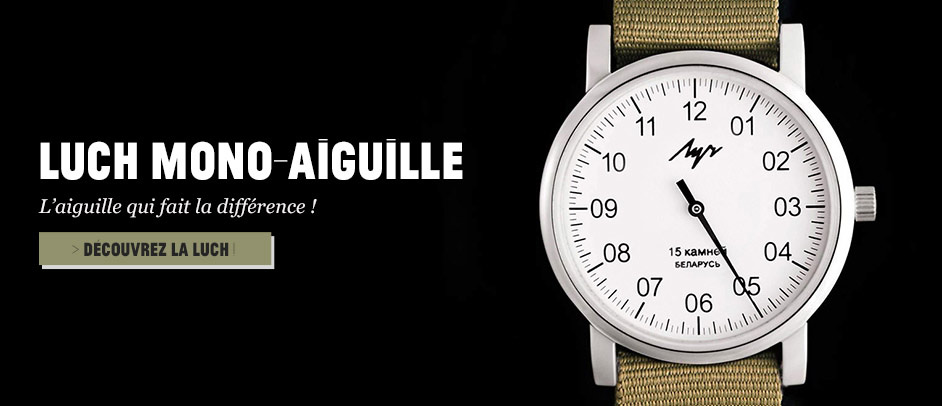 Montre monoaiguille